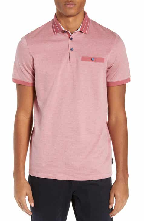 f87320ef9089b2 Ted Baker London Munsan Slim Fit Short Sleeve Polo