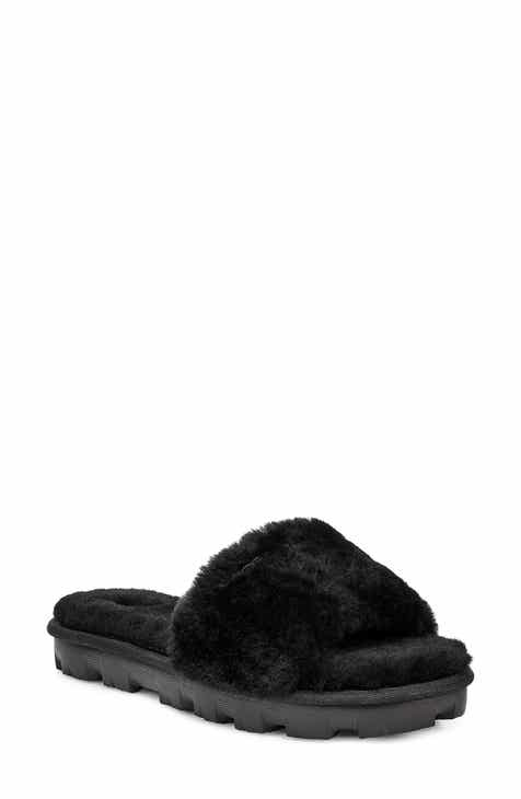 UGG® Cozette Genuine Shearling Slipper (Women) c0791a5f5