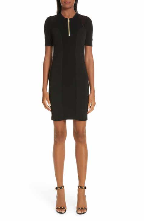 Versace Collection Logo Trim Body-Con Dress by VERSACE COLLECTION