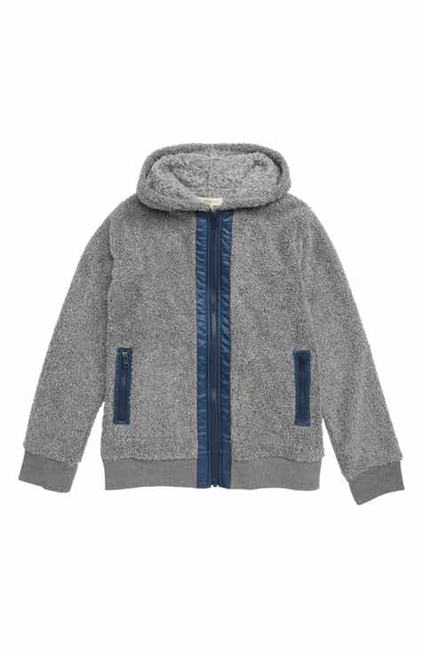 717f700d4a Tucker + Tate Faux Shearling Hooded Jacket (Big Boys)
