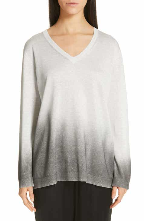 Fabiana Filippi Ombré Metallic Sweater by FABIANA FILIPPI
