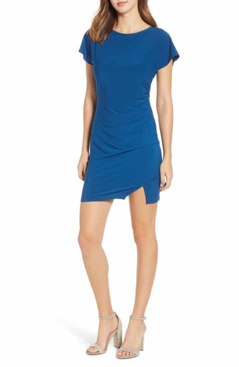 ddc92d33623 Leith Ruched Minidress (Regular   Plus Size)