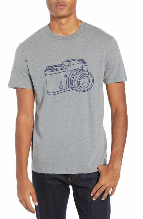 4d280bf61f64 French Connection Camera Regular Fit Cotton T-Shirt