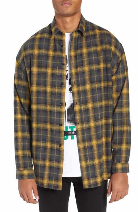The Kooples Oversize Plaid Shirt