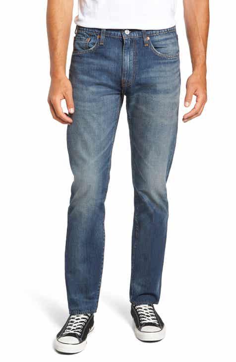 Levi's® 502™ Slouchy Slim Fit Jeans (Mako Warp/Cool)