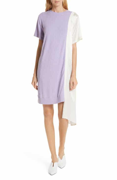 Clu Colorblock Asymmetrical Dress by CLU