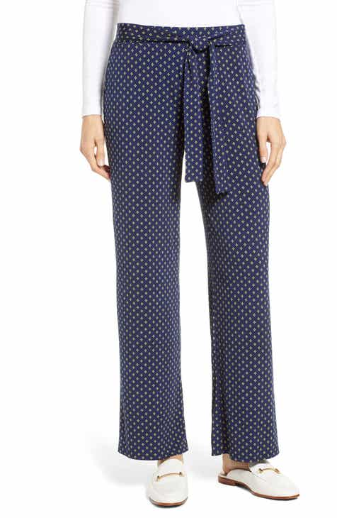 e620407c80 Chaus Stamp Tiled Tie Waist Pants
