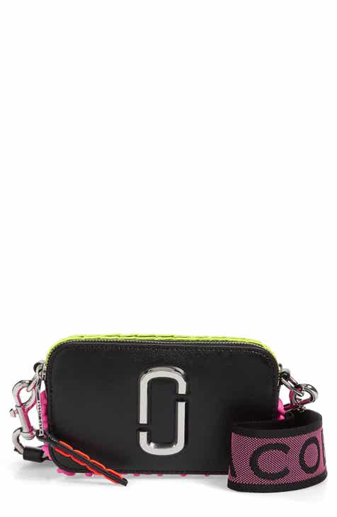 e787e1f64189 MARC JACOBS Snapshot Leather Crossbody Bag