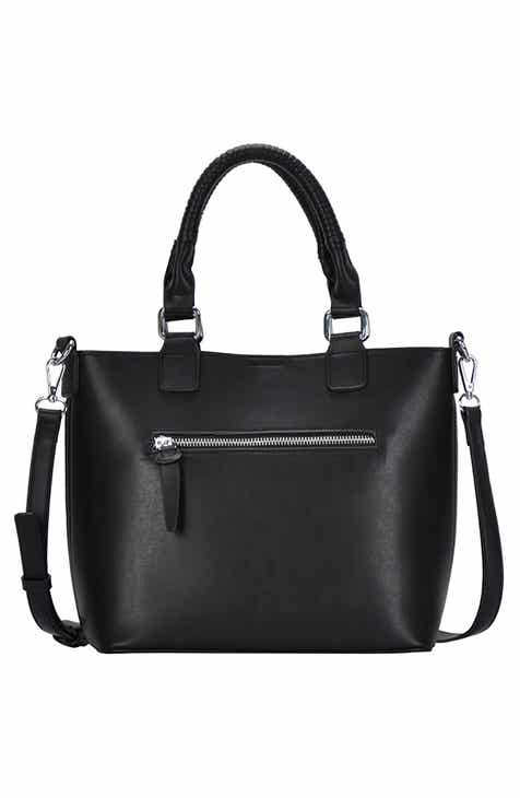 Antik Kraft Faux Leather Moto Crossboday Mini Satchel
