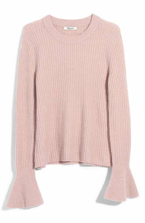 c7760832d2 Madewell Ruffle Cuff Pullover Sweater (Regular   Plus Size)