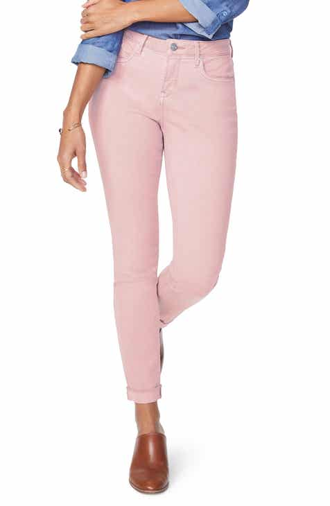 4ce090f38756e NYDJ Ami Cuffed Ankle Skinny Jeans (Regular   Petite)