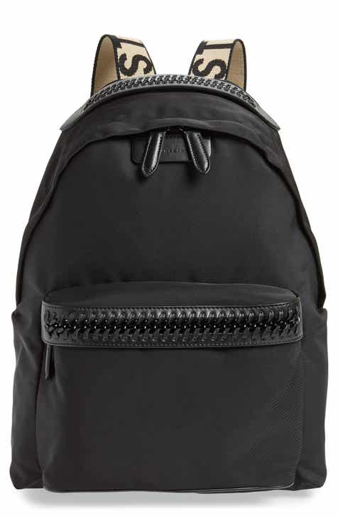 dbcc83c35d28 Stella McCartney Logo Strap Nylon Backpack