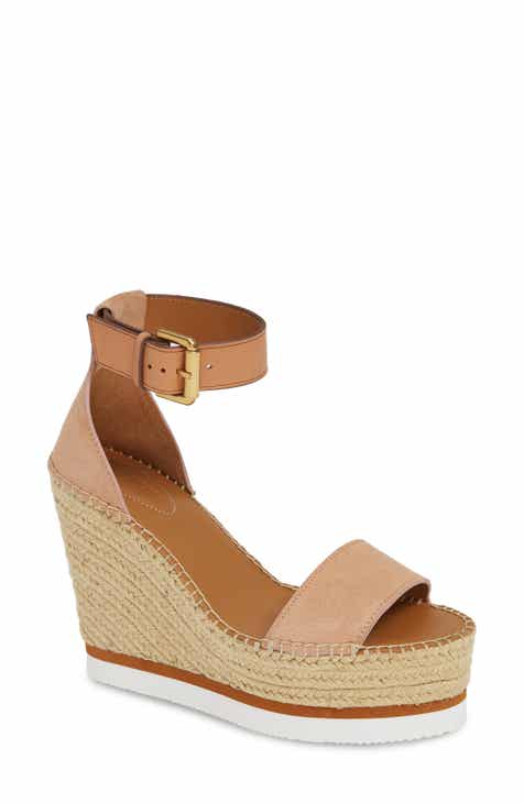 7f3fdcc488ff See by Chloé  Glyn  Espadrille Wedge Sandal (Women)