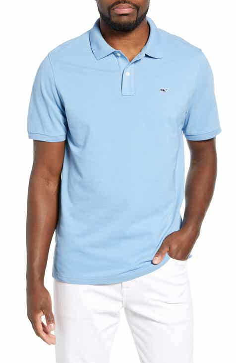 d322a93624f51e vineyard vines Regular Fit Stretch Piqué Polo