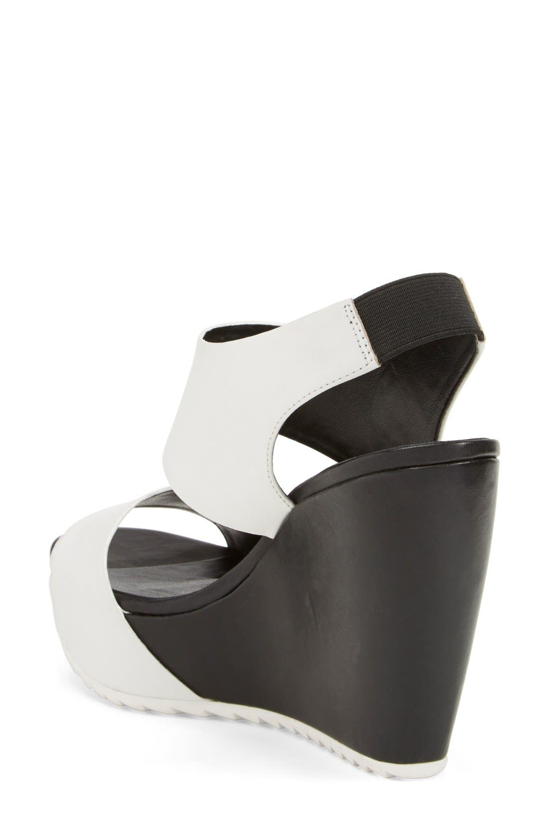 Alternate Image 2  - Trouvé 'Morgan' Platform Wedge Leather Sandal (Women)
