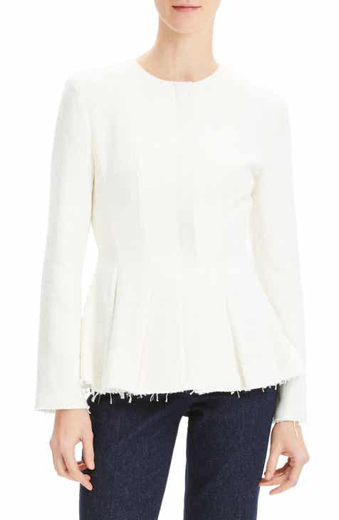 Michael Kors Ruched Sleeve Blazer by MICHAEL KORS