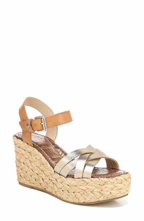 77b9a626149529 Sam Edelman Darline Platform Wedge Sandal (Women)