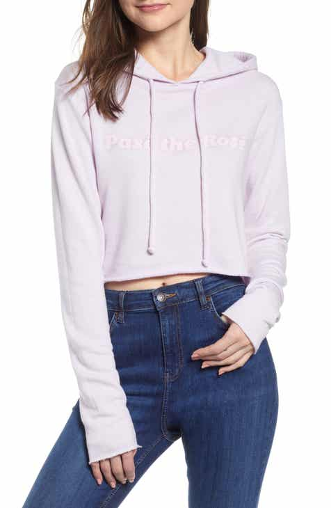 Wildfox Pasé the Rosé Ivy Hoodie by WILDFOX