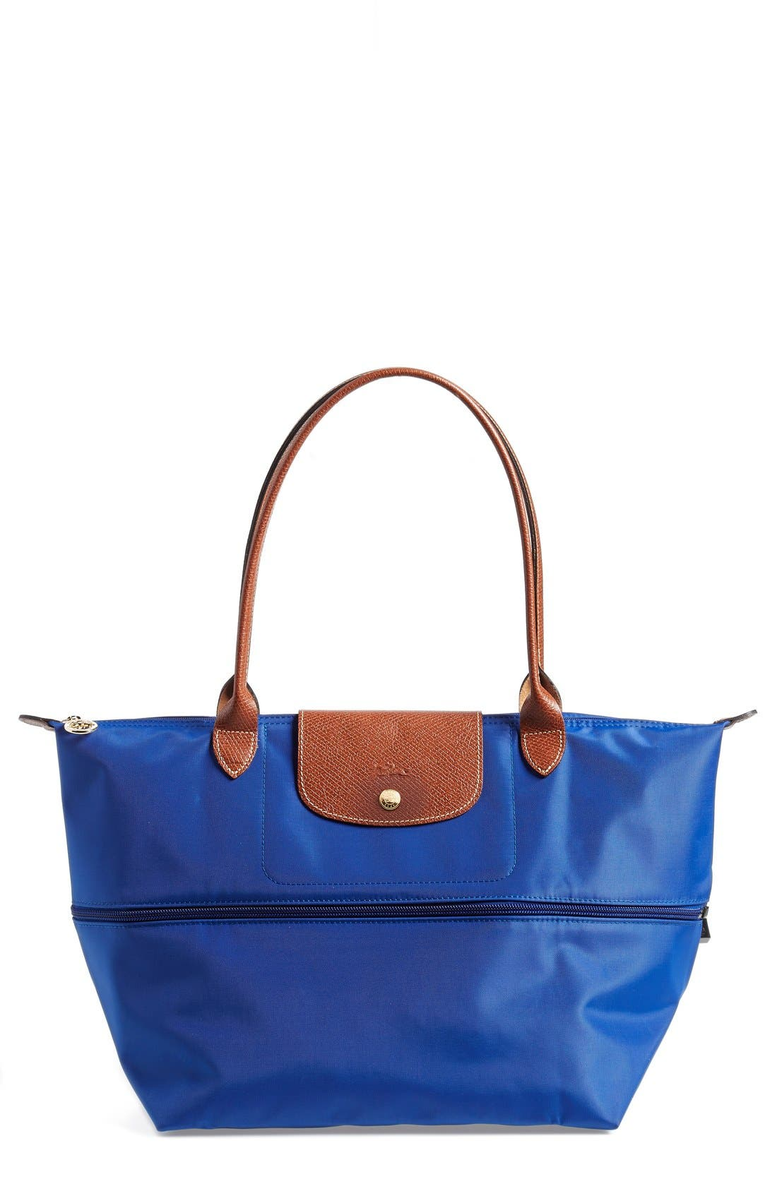 Main Image - Longchamp 'Le Pliage' Expandable Tote (Nordstrom Exclusive)