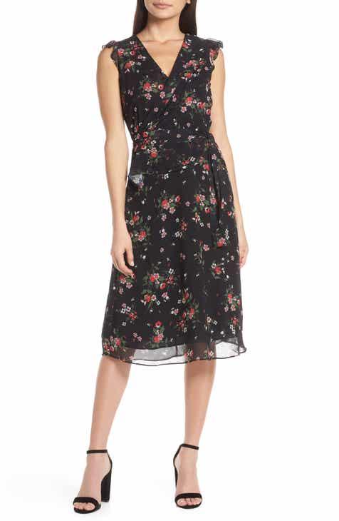 3f0f292e789 Lenon Flutter Sleeve Midi Dress