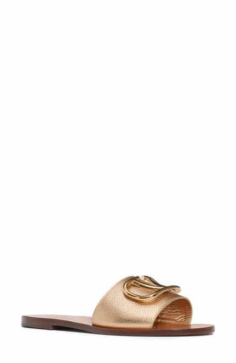 d12bd85e90eb VALENTINO GARAVANI Brooch Slide Sandal (Women)