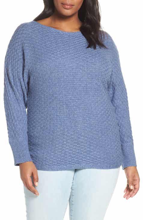 ea475e4798 Vince Camuto Boatneck Sweater (Plus Size)