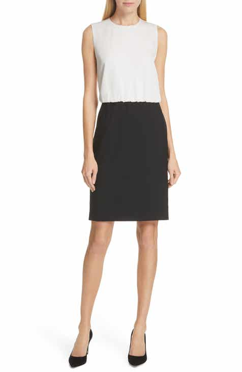 BOSS Domona Colorblock Sheath by BOSS HUGO BOSS