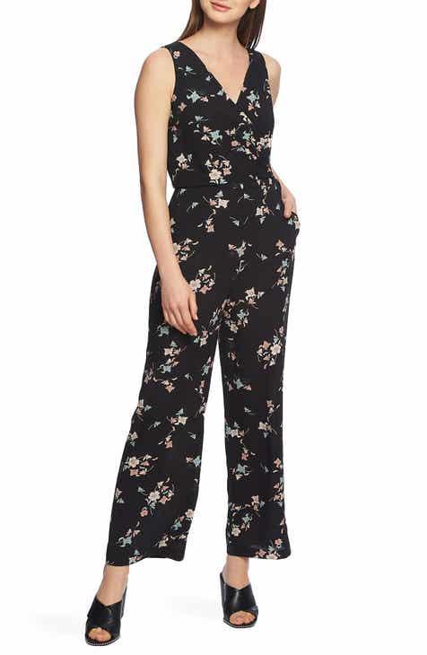 723f991b1276 STATE Floral Belle Wrap Front Jumpsuit
