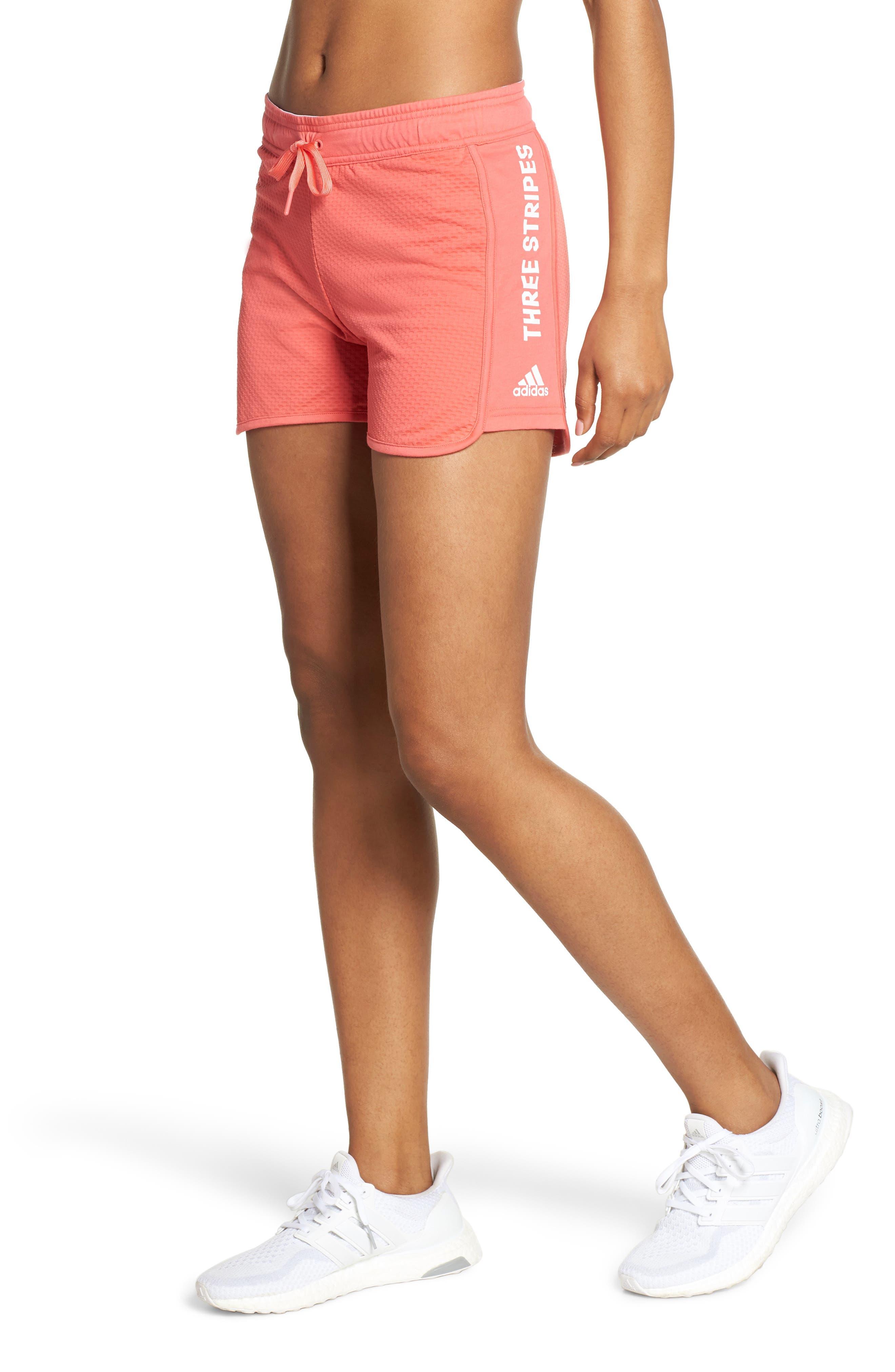 adidas crop jumper and shorts