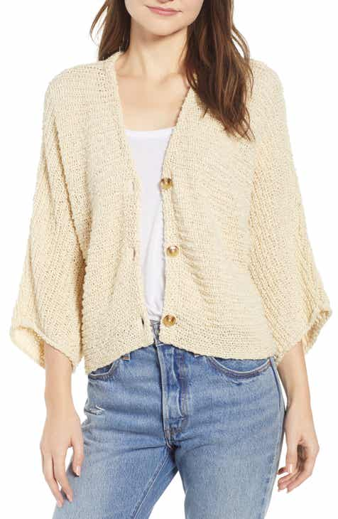 BP. Dolman Sleeve Button Front Cardigan (Regular & Plus Size) by BP