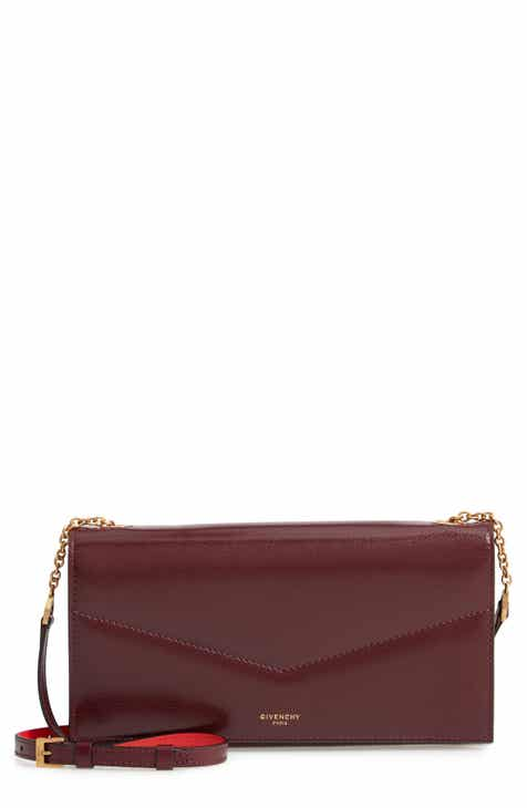 Givenchy Leather Wallet on a Chain 5653fa85c7a92