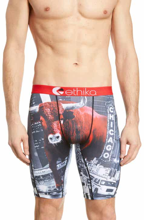 48c093e2ddb7 Ethika Chicago Bull Stretch Boxer Briefs