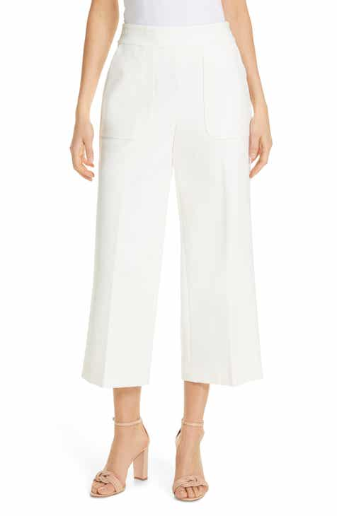 kate spade new york twill crop pocket pants by KATE SPADE NEW YORK