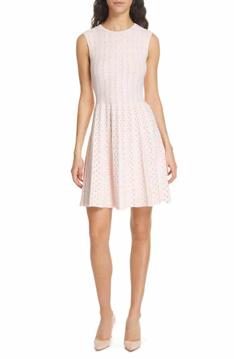 4983e8436e4da Ted Baker London Vellia Flippy Knit Skater Dress