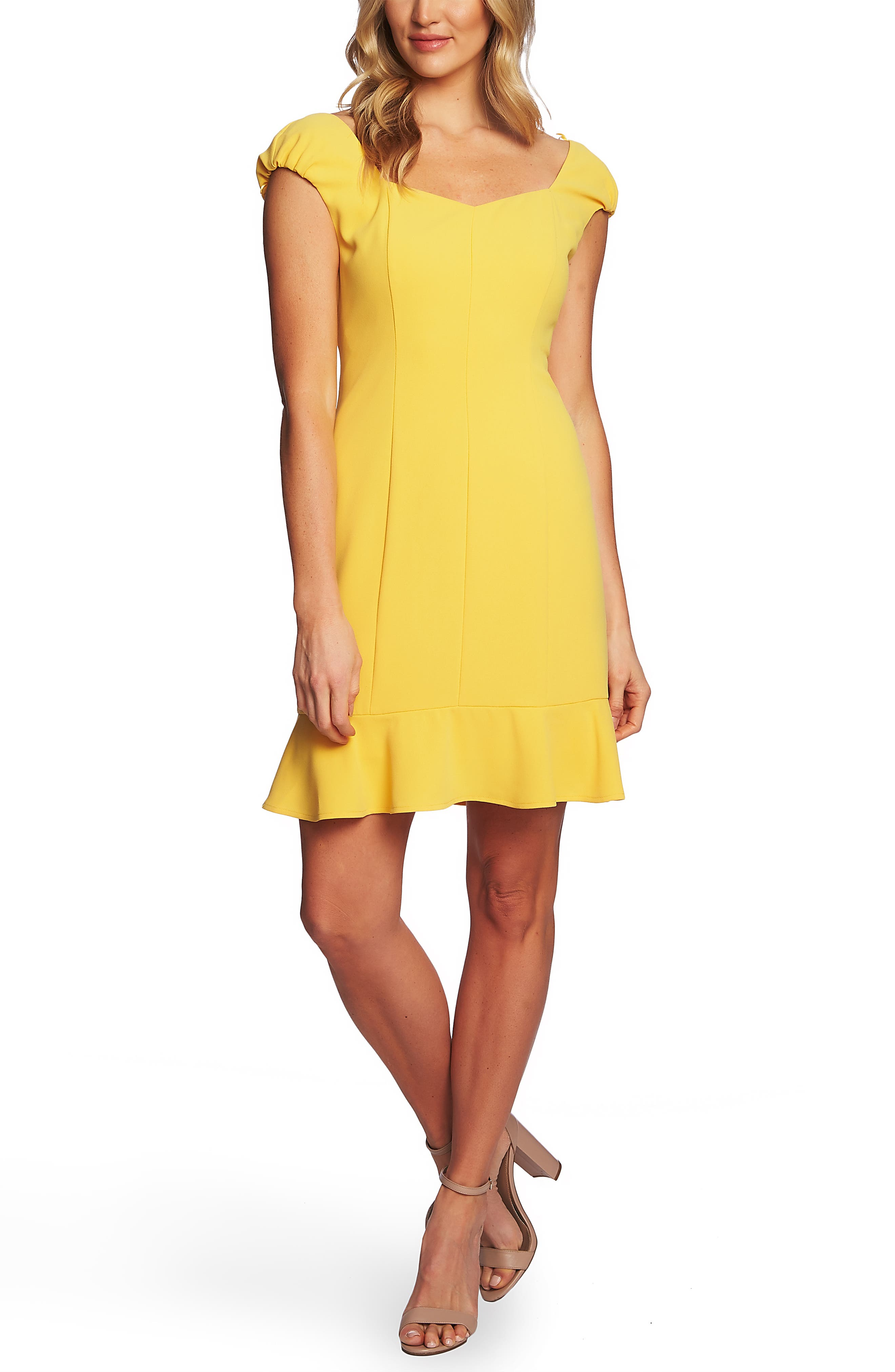 Cheap Yellow Cocktail Dresses