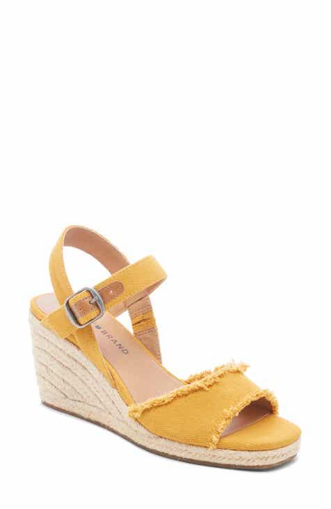 51d49d57a1 Lucky Brand Mindra Espadrille Wedge Sandal (Women)