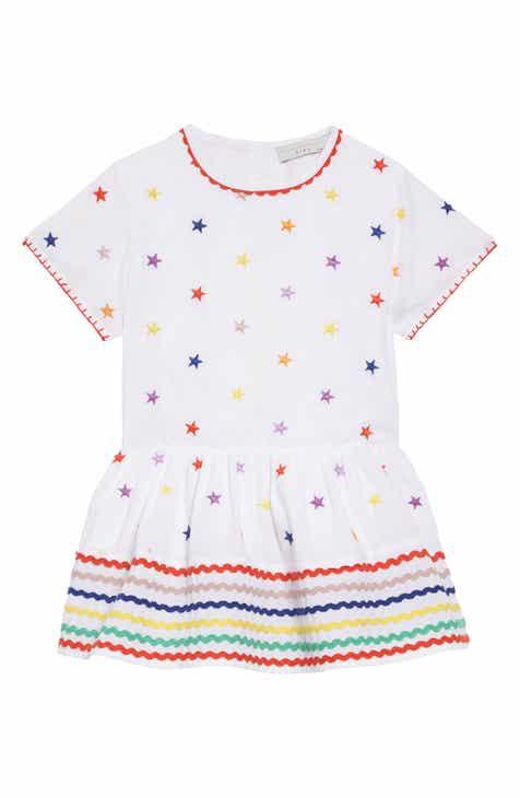 57036dd2aa8 Dolce Gabbana Embroidered Stars Dress (Toddler Girls