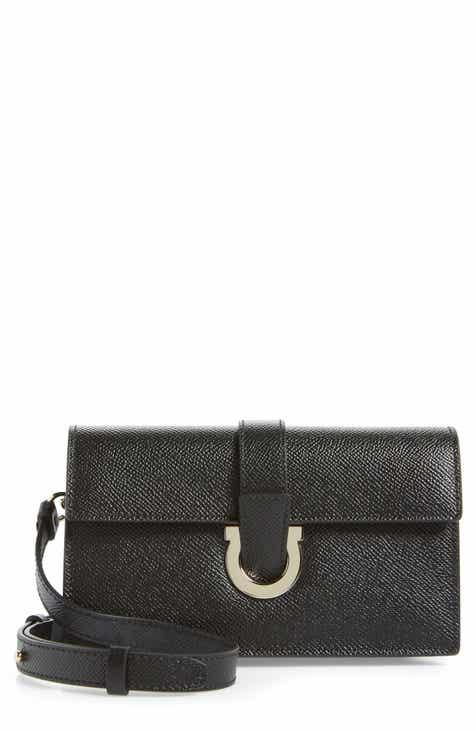 c0b58bbecc Salvatore Ferragamo Thalia Leather Wallet on a Chain