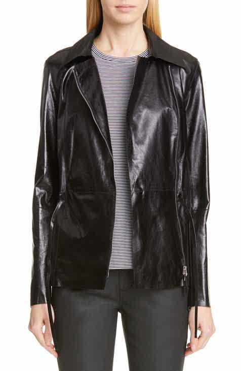 Lafayette 148 New York Jurnee Leather Jacket by LAFAYETTE 148