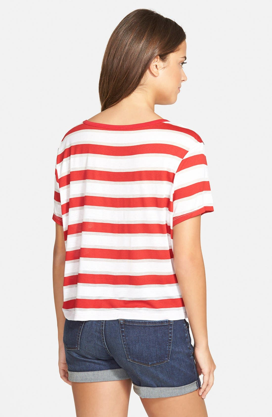 Alternate Image 2  - Stem Stripe Short Sleeve Tee