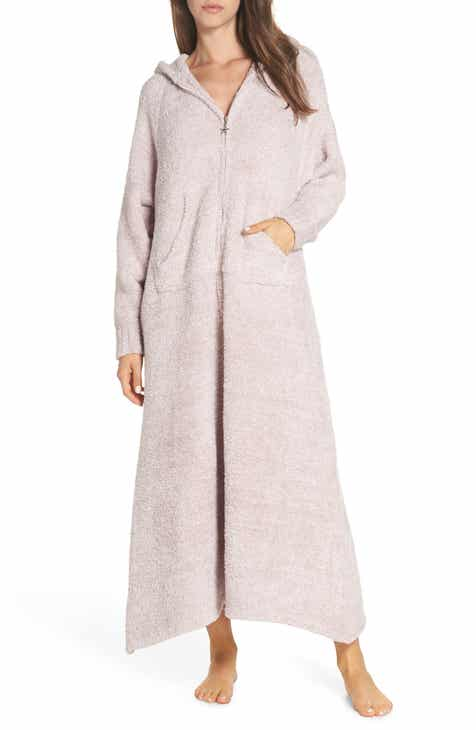 b07a959871 Barefoot Dreams® CozyChic® Hooded Zip Robe