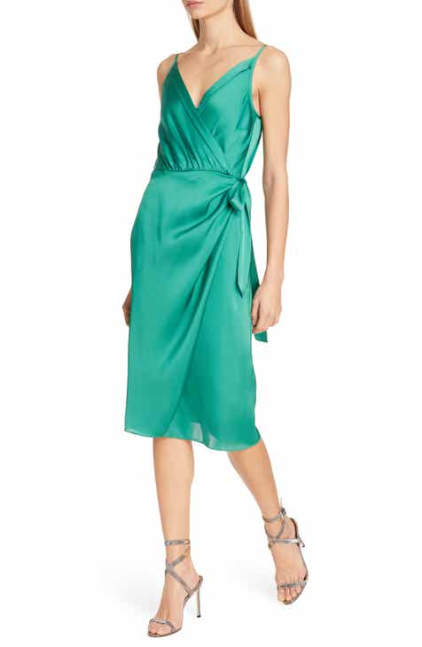 57c652bfad658 Tommy x Zendaya Satin Wrap Dress (Nordstrom Exclusive)