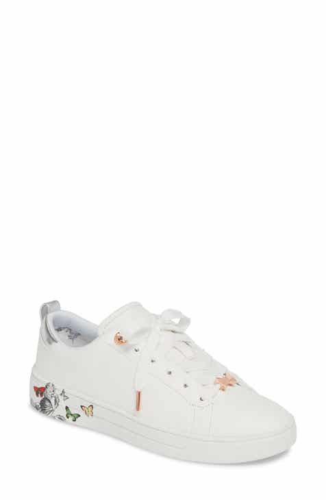 0ac34e7012c Ted Baker London Mispir Print Lace-Up Sneaker (Women)
