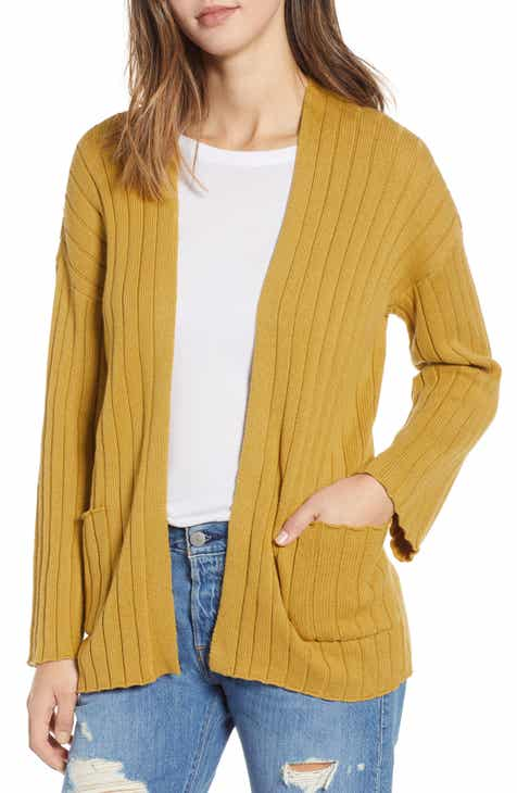 Ribbed Throw On Cardigan (Regular   Plus Size) 9edb6489e