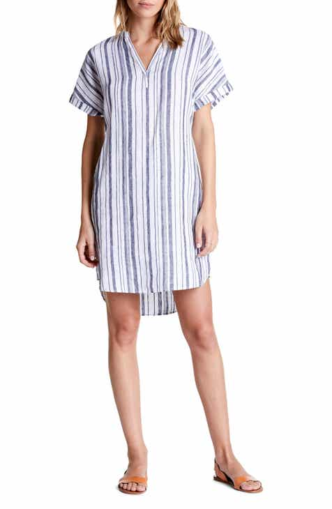 Michael Stars Amelee Stripe Linen Shift Dress