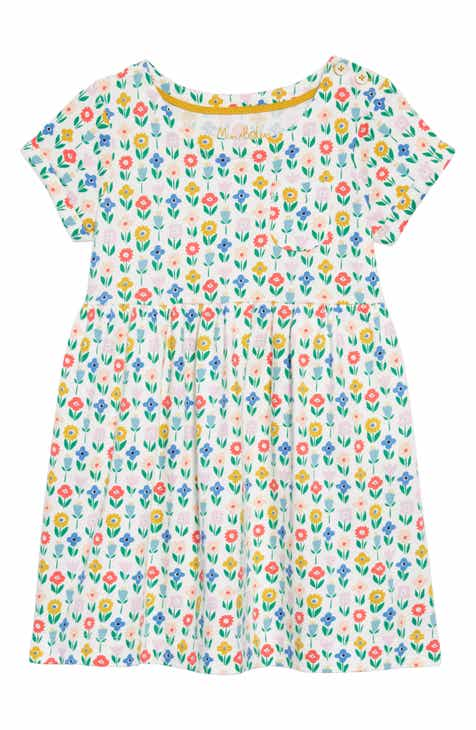 8855cc66e1f Mini Boden Flower Patch Jersey Dress (Toddler Girls