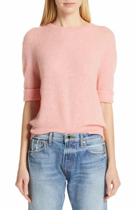 Khaite Lydia Short Sleeve Cashmere Sweater by KHAITE