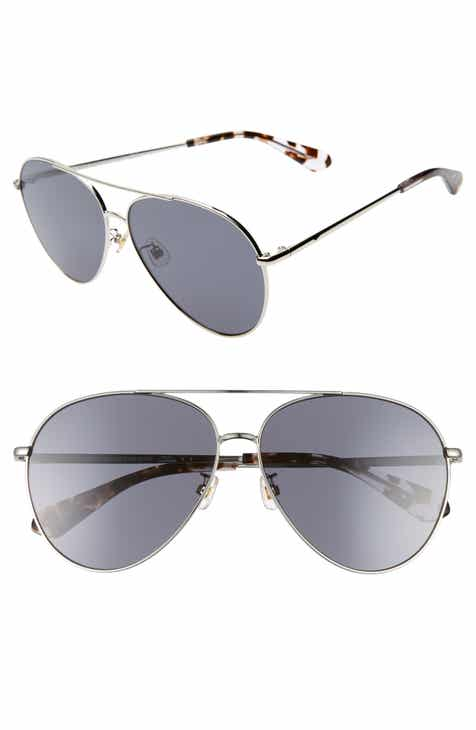 cb48c68945a9 kate spade new york carolane 61mm special fit polarized aviator sunglasses