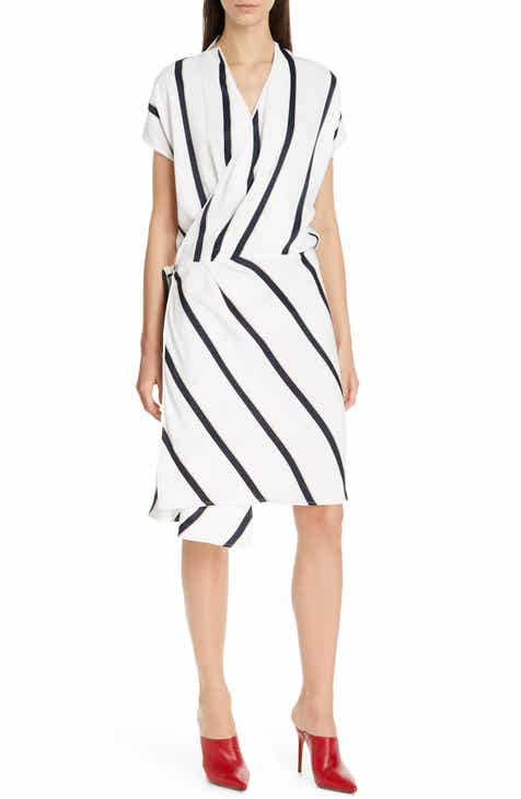Equipment Leonce Wrap Dress by EQUIPMENT