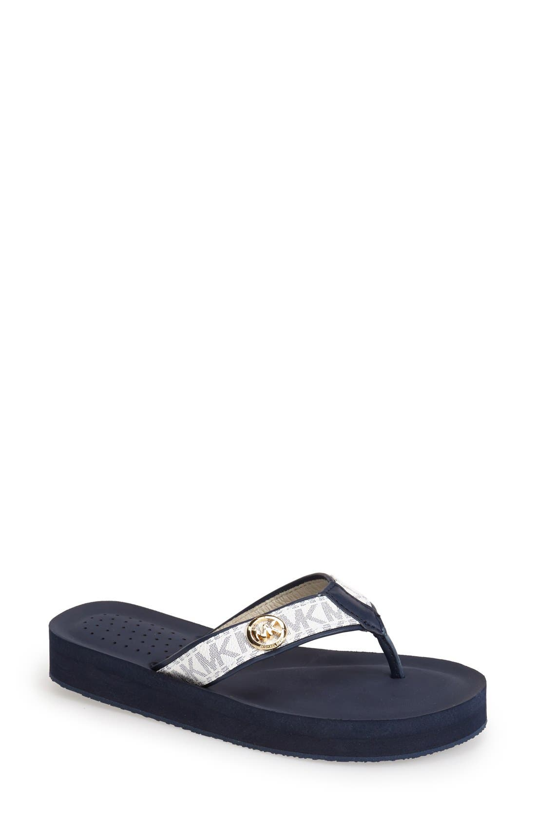 Alternate Image 1 Selected - MICHAEL Michael Kors 'Gage' Flip Flop